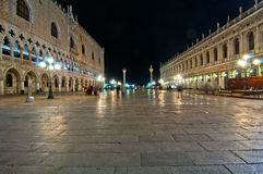 Venice Italy Saint Marco square view Royalty Free Stock Photos