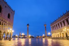 Venice, Italy. San Marco square in Venice royalty free stock images