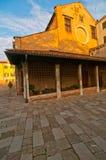 Venice Italy San Nicolo dei mendicoli church Stock Photo