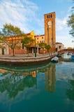 Venice Italy San Nicolo dei mendicoli church Royalty Free Stock Image