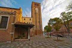 Venice Italy San Nicolo dei mendicoli church Stock Image