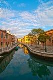 Venice Italy San Nicolo dei mendicoli church Royalty Free Stock Photos
