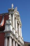 Venice, Italy. Santa Maria di Nazareth - Church of the Discalced in Venice, Italy. Beautiful baroque landmark Royalty Free Stock Photo