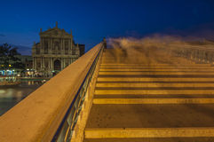VENICE/ITALY   Scalzi Bridge at Night Stock Photos