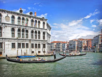 Venice Italy. Scenic postcard view of Venice, Italy Royalty Free Stock Image