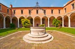Venice Italy scuola dei Carmini Stock Photos