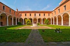 Venice Italy scuola dei Carmini Stock Images