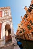 Venice Italy scuola San Rocco back view Stock Photo