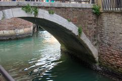VENICE, ITALY - SEPTEMBER, 29 2017: Bridge over the canal of Ven Stock Photo