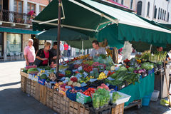 VENICE, ITALY - SEPTEMBER 7, 2014: Shopping in Venice, Italy. Royalty Free Stock Images