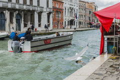 Venice in Italy stock image