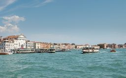 St Mary of the Rosary , ancient dominican church in Venice, Italy royalty free stock photo