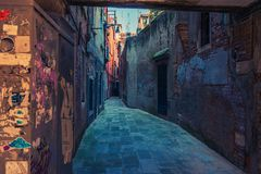 Venice Italy Street Royalty Free Stock Images