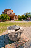 Venice Italy Torcello Cathedral of Santa Maria Assunta Royalty Free Stock Images