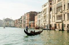 Tourists on a Gondola Royalty Free Stock Photo