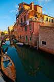 Venice Italy unusual pittoresque view Royalty Free Stock Photo