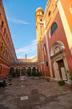 Venice Italy unusual pittoresque view Stock Photography