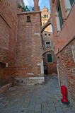 Venice Italy  unusual pittoresque view Royalty Free Stock Photos