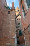 Venice Italy  unusual pittoresque view Royalty Free Stock Images