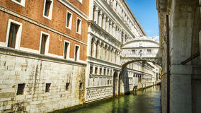 Venice Italy. Venice Venezia Italy bridge of sighs Ponte dei Sospiri stock images