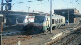 Venice, Italy, Venezia Santa Lucia railway station, stock video footage