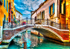 In Venice in Italy Royalty Free Stock Images