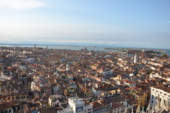 Venice. Italy view from above Royalty Free Stock Image