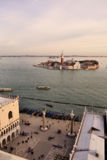 Venice. Italy. View from the bell tower royalty free stock photo