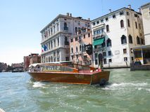 20.06.2017, Venice, Italy: View of historic buildings and canals Royalty Free Stock Photos