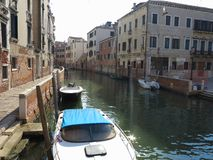 20.06.2017, Venice, Italy: View of historic buildings and canals Stock Photography
