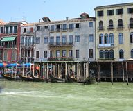 20.06.2017, Venice, Italy: View of historic buildings and canals Stock Photo