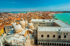 Venice, Italy. View of St. Marks Cathedral in Venice, Italy Royalty Free Stock Image