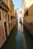 Venice, Italy. A water path in Venice Stock Photo