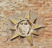 Venice and its scultures, Italy Stock Photography