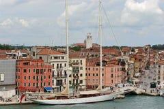 venice kanałowy luksusowy jacht Zdjęcia Royalty Free