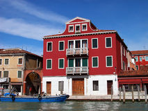 Venice Lagoon. In a sunny day royalty free stock images