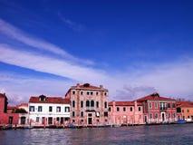 Venice Lagoon. In a sunny day stock photo