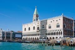 Venice from the lagoon Royalty Free Stock Photos