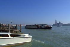 Venice lagoon boats Royalty Free Stock Photos