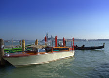 Venice lagoon boats Stock Image
