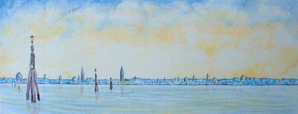 Venice Lagoon Stock Image