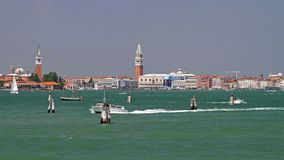 Venice Lagoon Royalty Free Stock Photo