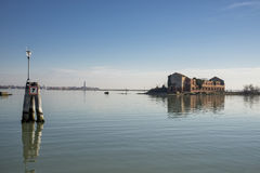 Venice lagoon Royalty Free Stock Images
