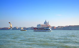 Venice lagoon view,Italy Stock Photos