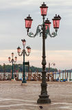Venice lampposts. Stock Image