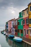 Venice landmark, Burano island Stock Photo