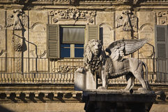 The Venice lion Stock Photos