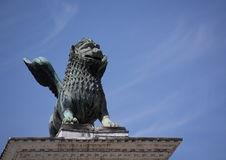Venice Lion. Winged Lion of San Marco, Venice, Italy Royalty Free Stock Image
