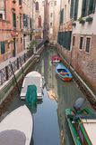 Venice - Look to Cale Lavezzera canal Royalty Free Stock Images