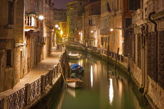 Venice - Look to Rio Martin canal Royalty Free Stock Image